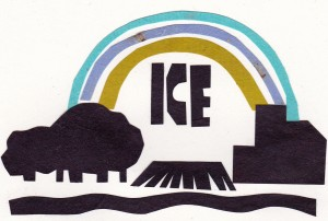 ICE GOES TO MARKET: Image by Bonnie Acker (c) 2014