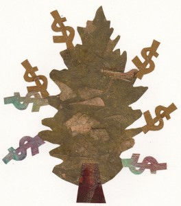 THE MONEY TREE: Image by Bonnie Acker (c) 2014
