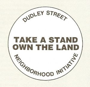 Boston-Dudley campaign button-Take a Stand