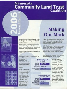 Brochure for MN Coalition