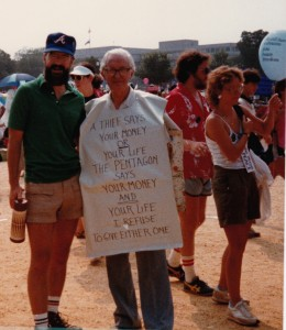 JohnDavis&MauriceMcCrackin-Washington DC March for Jobs, Peace, and Freedom -1984