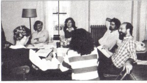 Legal task force (circa 1984)-Pictured are Deborah Bell_Russ Hahn_Gretchen Bailey & John Davis
