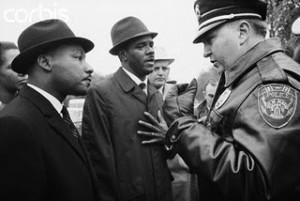 MLK & Ralph Abernathy & Laurie Pritchett