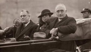 Morgan with Roosevelts