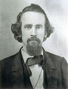 Portrait of Young Henry George