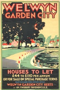 Poster for Welwyn Garden City