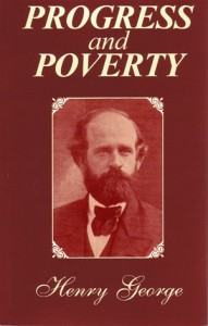 Progress & Poverty book cover