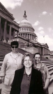 Sarah Page - ICE executive director (1997-2002) and Julie Orvis - ICE staff (1987-2005)