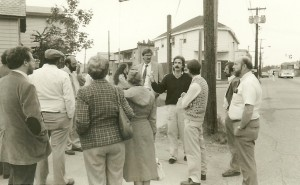 Tim McKenzie -BCLT-Executive Director-leading an Old North End Tour-1990
