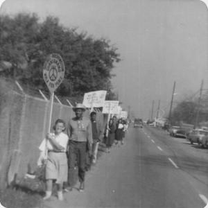 Walk for Peace-1964-Albany GA
