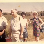 Slater King, Bob Swann, Marion King and Fay Bennett in Israel