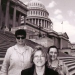 Sarah Page and Julie Orvis in Washington DC