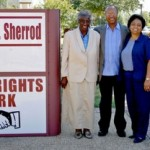 Civil Rights Park dedication