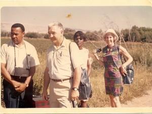 Israel 1968-Slater King-Bob Swann-Marion King &Fay Bennett