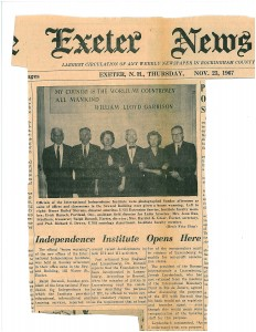 Officers of Institute for International Independence-1967