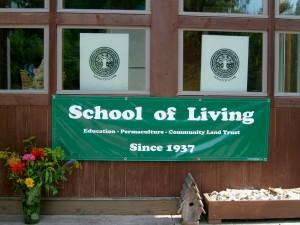 School of Living banner